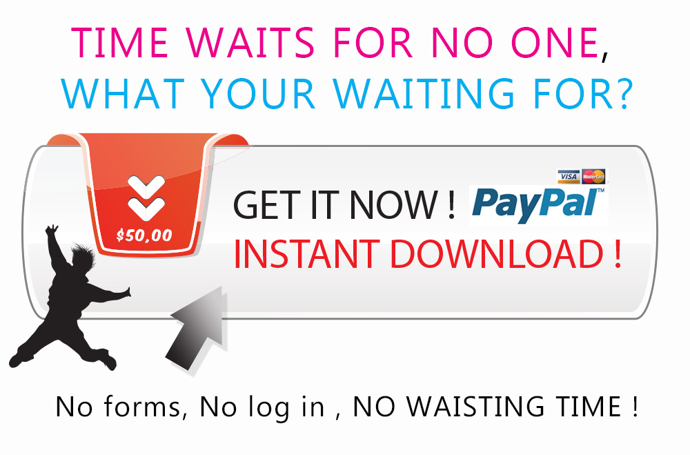 get it now, pay with paypal, instant download